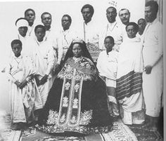 Empress Zewditu, Empress of Ethiopia African History, Women In History, Black History, History Of Ethiopia, Black King And Queen, Jah Rastafari, Black Royalty, Haile Selassie, African Royalty