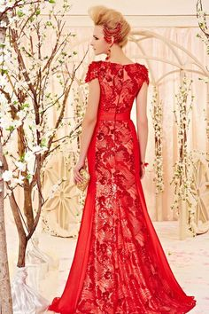 china fun style red bridal wedding dress red sequin embroidery wedding party dress