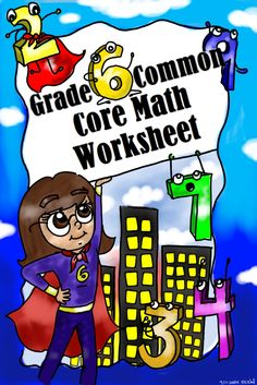 FREE Grade 6 Common Core Math Worksheets!
