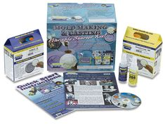 Moldmaking & Casting Pourable Starter Kit Smooth-On, Inc. Plastic Cast, Plastic Resin, Period Kit, Bushcraft Kit, Body Cast, Hobby Kits, Candle Maker, Knitting Kits, Miniature Crafts
