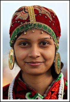 A woman in the market - Darjeeling, West Bengal by John Hopkins