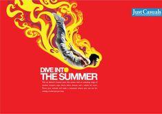 Just Casuals - Press Ad Press Ad, Cool Designs, Ideas
