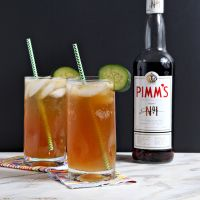 Pimm's Cup // I have to try this delicious drink recipe!