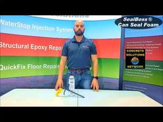 CanSeal Foam is a versatile, closed-cell, self-curing foam. CanSeal is a single component MDI-based PUR of the highest quality. To learn more click below. #waterproofingsolutions #conduits Concrete Repair Products, Filling System, Polyurethane Foam, Seal, Learning, Studying, Teaching, Harbor Seal, Onderwijs