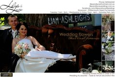 Lilies and Lace Wedding Bouquets and Accessories
