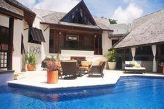 Tropical sea view house in Turtleback Ridge, Barbados.