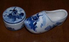 Delftware...typical souvenirs to bring back home.