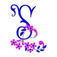 Free Embroidery Machine Design Letter S-65