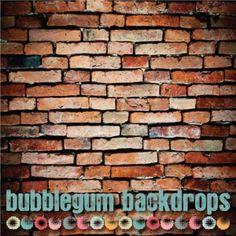Alley Brick  www.bubblegumbackdrops.com