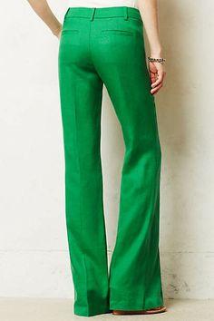 Brighton Linen Wide-Legs