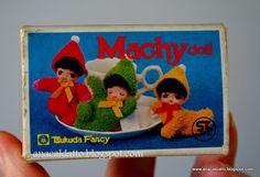 Vintage Japan Machy Doll