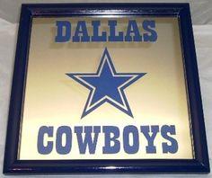 Dallas Cowboys bar mirror