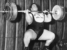 Defying every assumption of strength and training of his time, Paul Anderson might be the strongest man in history. Leg Day Humor, World's Strongest Man, World Championship Wrestling, Eddie Guerrero, Make Funny Faces, Gym Weights, Weight Benches, Athlete Workout, Beast Mode