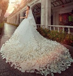 Spring Summer Wedding Gown