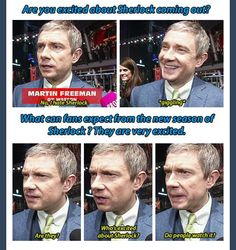 Oh how I love Martin Freeman!