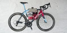 BikeDock Loft Grey Aluminium - Road bike storage on the wall - Artivelo Basement Home Office, Wall Mount Bike Rack, Bike Hanger, Bike Shelf, Triathlon Training, Flat Ideas, Bike Storage, Wall Brackets, Cycling Gear