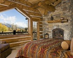 Yes please. Log Cabin Homes Design, Pictures, Remodel, Decor and Ideas - page 7