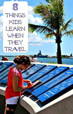 So many life skills kids can learn when they travel with family -- great to think about before summer vacation trips!