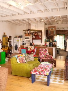 Eclectic Bohemian Style Design, Pictures, Remodel, Decor and Ideas - page 2