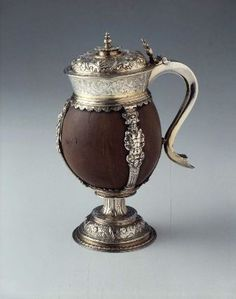 Coconut Cup. Probably by Hugh Kayle. English (London), 1574–75. Coconut shell with silver-gilt mounts. Museum of Fine Arts, Boston.