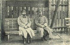Tsar Nicholas II and Grand Duke Nikolai Nikolaievich