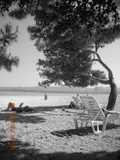 The Beach at Split, Croatia