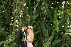 Kauai Jungle Wedding Romance -- Anna Kim Photography