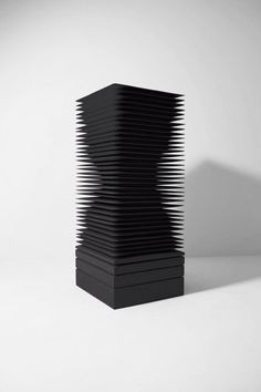 Masayuki Tsubota, the layer of self, Gesso, powdered mineral pigments, glue on basswood. Modern Sculpture, Abstract Sculpture, Sculpture Art, Principles Of Design, Elements Of Design, Art Concret, Instalation Art, Art Abstrait, Conceptual Art