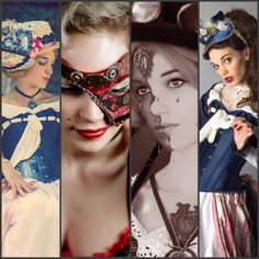 Costumes mad'Hands steam steampunk victorien , doll, circus divers model miss Mad, costumes faits main, photographes divers : ( F.bondaga, Malapris, Charlotte.D...)