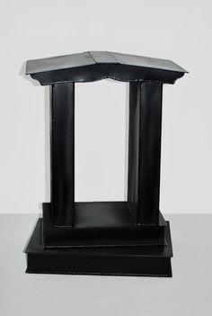 Modern Sculpture Bird Cage Associative Abstract by ARALICA