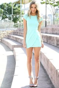 mint summer dress