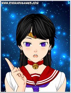 Mega Anime Sailor Mars by autumnrose83 on DeviantArt
