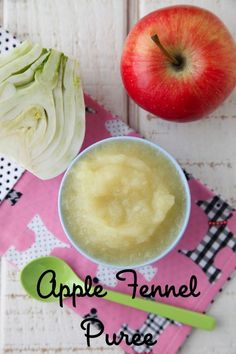 Make this apple fennel puree for everyone, from Dad to Baby, in your family to enjoy!