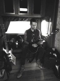 Matt Heafy from Trivium