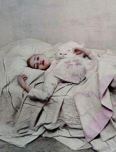 Sasha Pivovarova by Steven Meisel, Prada Spring/Summer 2006 Campaign