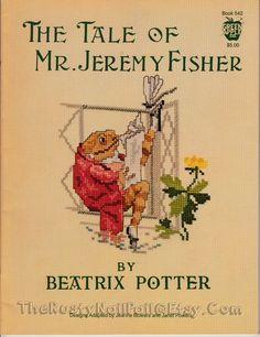 Beatrix Potter The Tale of Mr. Jeremy Fisher by TheRustyNailPail