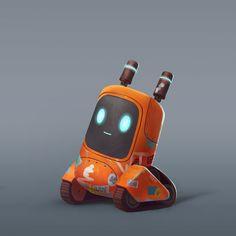 robots concept Robots on Behance 3d Character, Character Concept, Character Design, Croquis Robot, Conception Robot, Robot Design, Game Design, 3d Modellierung, Robot Cute