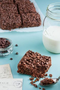New Ideas For Diet Food Recepies Snacks Meals Healthy Oatmeal Recipes, Healthy Breakfast Recipes, Healthy Cooking, Cooking Recipes, Vegan Kitchen, Brownie Recipes, Sweet Recipes, Food And Drink, Brownie Fondant