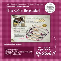 Donasi Rp1000/bracelet utk Yayasan Semai Benih Bangsa