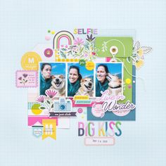 The lovely Flóra created this for our iNSD Challenge - use photos on your layout. She has featured our gorgeous Noteworthy collection on her layout! Please join in on all the NSD fun! Scrapbook Layout Sketches, Scrapbook Designs, Scrapbooking Layouts, Scrapbook Cards, Dyi Crafts, Diy Arts And Crafts, Diy Craft Projects, Diy Crafts For Kids, Creative Crafts