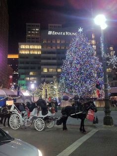Detroit during the holidays