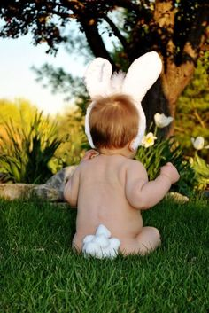 OMG! Can't handle the cuteness! Easter bunny!