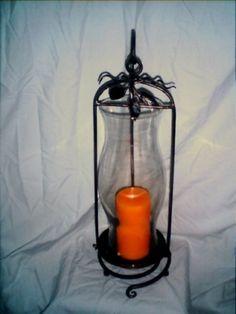 Hurricane lamp Hurricane Lamps, Blacksmithing, Blacksmith Shop, Blacksmith Forge, Wrought Iron