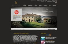 Castello di Casole is an estate, managed by Timbers Resorts, in Tuscany, Italy, featuring an historic castle, now open as a 41-suite boutique hotel, and restored Farmhouse Villas. -- Real Estate website by Blue Tent Marketing; view more samples: http://www.bluetentmarketing.com/portfolio/real-estate
