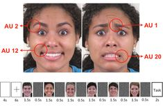 Researchers pinpoint part of the brain that recognizes facial expressions: New machine learning algorithm can identify the facial expression a person is looking at based on neural activity Realistic Eye Drawing, Drawing Tips, Learn Drawing, Drawing Techniques, Doodle Drawings, Easy Drawings, Learn To Draw, How To Draw Hands, Facial Expressions Drawing