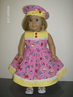 American Girl or 18 Inch Doll Clothes / 2 pc. by stitchandstack