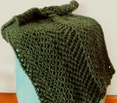 """""""Ambivalence"""" is a """"Trapeze Net"""" Cowl in 3 Forms; 1 Long and 2 Short."""