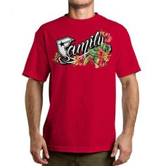 Famous Stars and Straps Family Floral Men's Tee