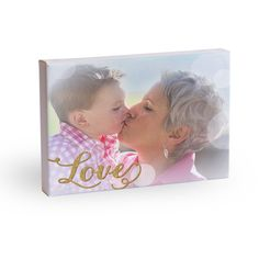 Show your love with this 8x10 gallery wrapped canvas print. #holiday #gifts