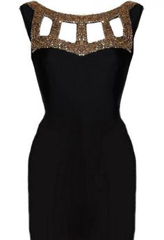 Cool Black and gold party dresses 2018-2019 Check more at http://myclothestrend.com/dresses-review/black-and-gold-party-dresses-2018-2019/